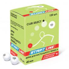 CLUB SELECT 1*, 120 мячей в упаковке, белые