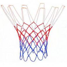 Сетка баскетбольная, Д 3,1 мм, «Триколор», цветная