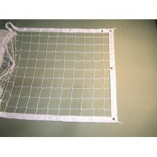 НОВИНКА!!!Сетка волейбольная, Д 1,8 мм (обшитая с 1 стороны), парашютная стропа 50 мм
