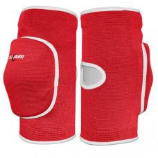7201-M Наколенники волейбольные (с дыркой) (красный)