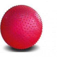 NT-757-55 Мяч гимнастический массажный 55 см (с насосом, в коробке)