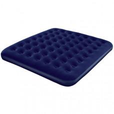 Bestway 67004N Кровать флок 203х185х22 см (синяя)