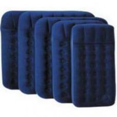 Bestway 67224N Кровать флок 188х99х22см (синяя), встр.ножной насос