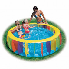 Bestway 51038 Бассейн радуга 183*61см Multi-Colored Pool