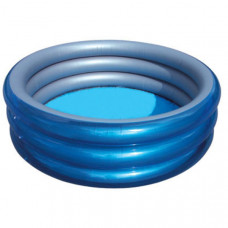 "Bestway 51042 Бассейн ""Металлик"" 170х53 см Big Metallic 3-Ring Pool"