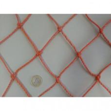 F04514 Сетка для игры в гандбол (оранжевая)