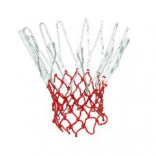 F04518 Сетка баскетбольная(бело-красная)