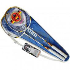 F04546 Набор для бадминтона (2 ракетки+2 волана)