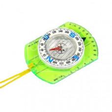 F04596 Компас пластмассовый с линейкой на шнурке