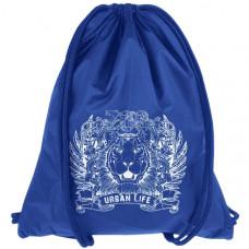 """Мешок-рюкзак """"Lion"""" синий (р-р 44х34 см)"""