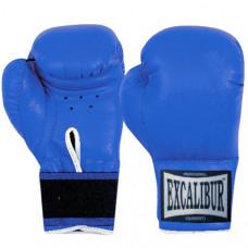 513/Blue  /8 oz/ Перчатки боксерские ПВХ (Япония), Ручная Набивка ,Упаковка:ПЭ