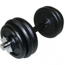 DB101-14TR Гантель разборная чёрная 11,0 кг