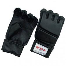 """WCNG-345 р. XL Перчатки для MMA """"WMA"""" (черные) (Материал: высококачественный ПУ+EVA, в подарочной упаковке)"""