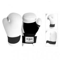"""WSG-341W р. S Перчатки полуконтактные """"WMA"""" (белые) (Материал: ПУ, машинная набивка ПУ, в подарочной упаковке)"""