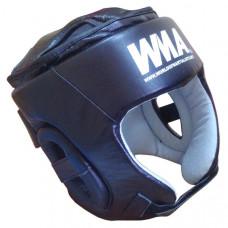 2492 р. M Шлем защитный бокс (Нат. Кожа) (черно/белый)