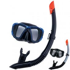Bestway 24021 Набор для ныряния (маска+трубка) Black Sea для взрослых, от 14 лет  (6)
