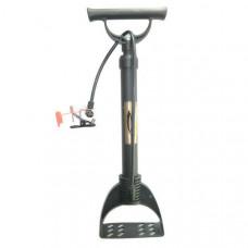 H10295 Насос механический ножной (Количество насадок в комплекте- 4 шт., используется для велосипеда, мячей, надувных изделий и автомобилей)