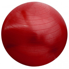 "Hawk HKGB803-1-PP Мяч гимнастический""Gym Ball"" 55 см Anti-Burst   (красный, без насоса Упаковка: пакет)"