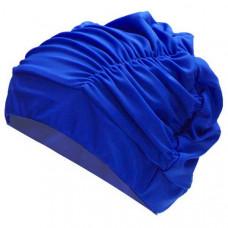 F11779 Шапочка для плавания юниорская (лайкра) (синяя)