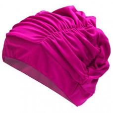 F11780 Шапочка для плавания юниорская (лайкра) (розовая)