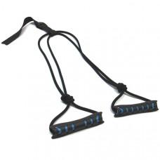 CS40104 Эспандер лыжника, боксёра, пловца, двойная резина с жёсткими прорезиненными ручками 26-08