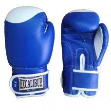 500/01 /8 oz/ Перчатки боксерские ПВХ (Япония), цвет - Синий, Ручная Набивка ,Упаковка:ПЭ