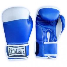 501/01 /10 oz/ Перчатки боксерские ПВХ (Япония), цвет - Синий, Ручная Набивка ,Упаковка:ПЭ