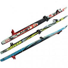 Лыжный набор: лыжи , кр.75мм+палки